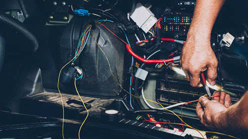 Land Rover Electrical Wiring Check